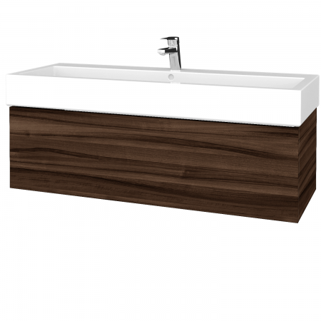 Dreja - Kúpeľňová skrinka VARIANTE SZZ 120 - D06 Ořech / D06 Ořech (265274U)