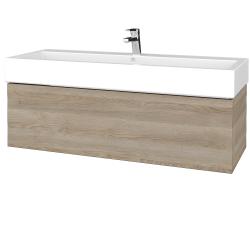 Dreja - Kúpeľňová skrinka VARIANTE SZZ 120 - D17 Colorado / D17 Colorado (265335U)