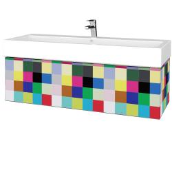 Dreja - Kúpeľňová skrinka VARIANTE SZZ 120 - IND Individual / IND Individual (265366U)