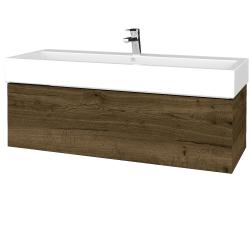 Dreja - Kúpeľňová skriňa VARIANTE SZZ 120 - D21 TOBACCO / D21 Tobacco (265663)