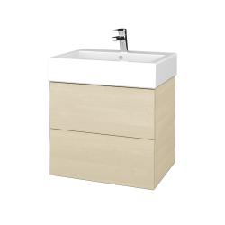 Dreja - Kúpeľňová skriňa VARIANTE SZZ2 60 - D02 Bříza / D02 Bříza (265700)