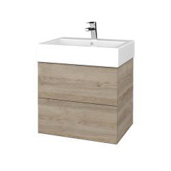 Dreja - Kúpeľňová skriňa VARIANTE SZZ2 60 - D17 Colorado / D17 Colorado (265809)