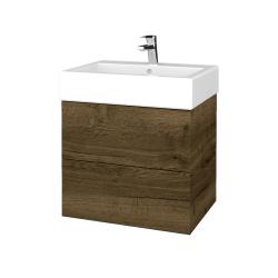 Dreja - Kúpeľňová skriňa VARIANTE SZZ2 60 - D21 TOBACCO / D21 Tobacco (266134)