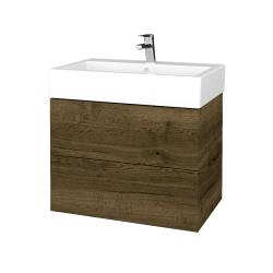 Dreja - Kúpeľňová skrinka VARIANTE SZZ2 70 - D21 TOBACCO / D21 Tobacco (266608)