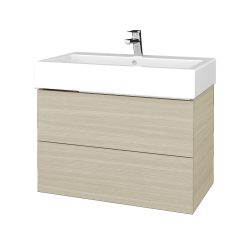 Dreja - Kúpeľňová skriňa VARIANTE SZZ2 80 - D04 Dub / D04 Dub (266660)