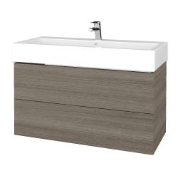 Dreja - Kúpeľňová skrinka VARIANTE SZZ2 100 - D03 Cafe / D03 Cafe (267124U)