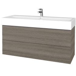 Dreja - Kúpeľňová skriňa VARIANTE SZZ2 120 - D03 Cafe / D03 Cafe (267599U)