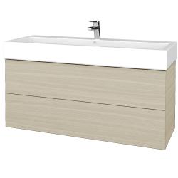 Dreja - Kúpeľňová skriňa VARIANTE SZZ2 120 - D04 Dub / D04 Dub (267605)