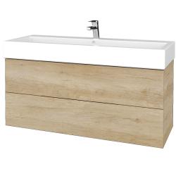 Dreja - Kúpeľňová skriňa VARIANTE SZZ2 120 - D15 Nebraska / D15 Nebraska (267667U)