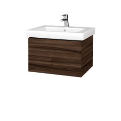 Dreja - Kúpeľňová skriňa VARIANTE SZZ 60 - D06 Ořech / D06 Ořech (270902)