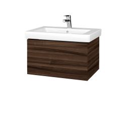 Dreja - Kúpeľňová skriňa VARIANTE SZZ 65 - D06 Ořech / D06 Ořech (271374)