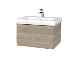 Dreja - Kúpeľňová skriňa VARIANTE SZZ 65 - D17 Colorado / D17 Colorado (271435)