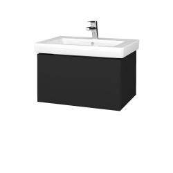 Dreja - Kúpeľňová skriňa VARIANTE SZZ 65 - L03 Antracit vysoký lesk / L03 Antracit vysoký lesk (271473)