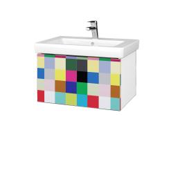 Dreja - Kúpeľňová skriňa VARIANTE SZZ 65 - N01 Bílá lesk / IND Individual (271664)