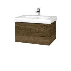 Dreja - Kúpeľňová skriňa VARIANTE SZZ 65 - D21 TOBACCO / D21 Tobacco (271763)