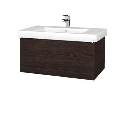 Dreja - Kúpeľňová skriňa VARIANTE SZZ 80 - D08 Wenge / D08 Wenge (271855)