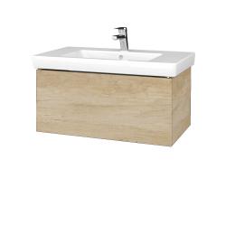 Dreja - Kúpeľňová skriňa VARIANTE SZZ 80 - D15 Nebraska / D15 Nebraska (271886)