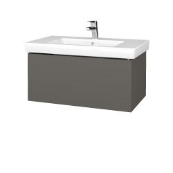 Dreja - Kúpeľňová skriňa VARIANTE SZZ 80 - N06 Lava / N06 Lava (271978)