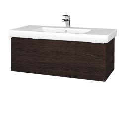 Dreja - Kúpeľňová skrinka VARIANTE SZZ 100 - D08 Wenge / D08 Wenge (272326)