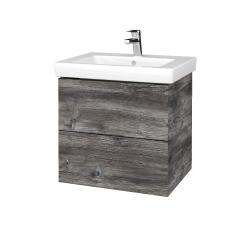 Dreja - Kúpeľňová skriňa VARIANTE SZZ2 60 - D10 Borovice Jackson / D10 Borovice Jackson (272814)