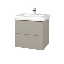 Dreja - Kúpeľňová skriňa VARIANTE SZZ2 60 - M05 Béžová mat / M05 Béžová mat (272869)