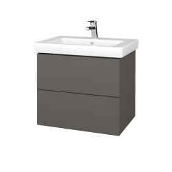 Dreja - Kúpeľňová skrinka VARIANTE SZZ2 65 - N06 Lava / N06 Lava (273385)
