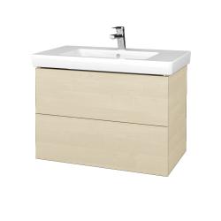 Dreja - Kúpeľňová skrinka VARIANTE SZZ2 80 - D02 Bříza / D02 Bříza (273682)