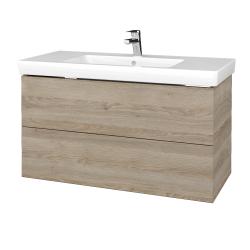 Dreja - Kúpeľňová skriňa VARIANTE SZZ2 100 - D17 Colorado / D17 Colorado (274252)