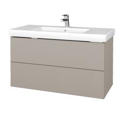 Dreja - Kúpeľňová skriňa VARIANTE SZZ2 100 - N07 Stone / N07 Stone (274337)