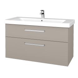 Dreja - Kúpeľňová skrinka Q MAX SZZ2 105 - N07 Stone / Úchytka T01 / N07 Stone (331832A)