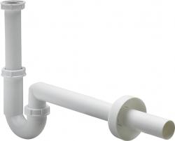 """VIEGA  s.r.o. - Sifon 5/4"""" x 40 """"S"""" spodek, plastový bílý umyvadlový, model 5611K  406462 (V 406462)"""