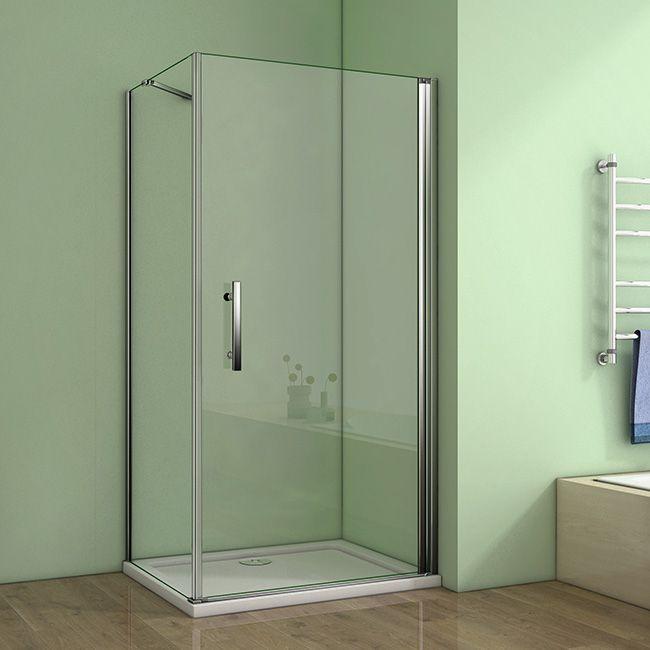 H K - Štvorcový sprchovací kút MELODY A1 90 cm s jednokrídlovými dverami vrátane sprchovej vaničky z liateho mramoru SE-MELODYA190 / SE-ROCKY-90sq
