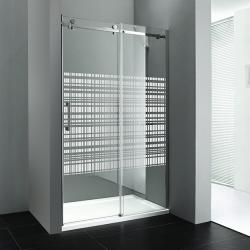 GELCO - DRAGON sprchové dvere 1200mm, sklo CANVAS, pravé (GD4512SR)