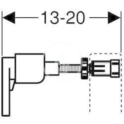 GEBERIT - Duofix Stavebná súprava na predstenovú montáž (111.815.00.1)