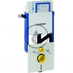 GEBERIT - Kombifix Montážny prvok na závesné WC, 108 cm, splachovacia nádržka pod omietku Sigma 12 cm, na odsávanie zápachu (110.367.00.5)