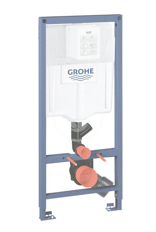 GROHE - Rapid SL Predstenový inštalačný prvok na závesné WC, splachovacia nádržka GD2 39002000