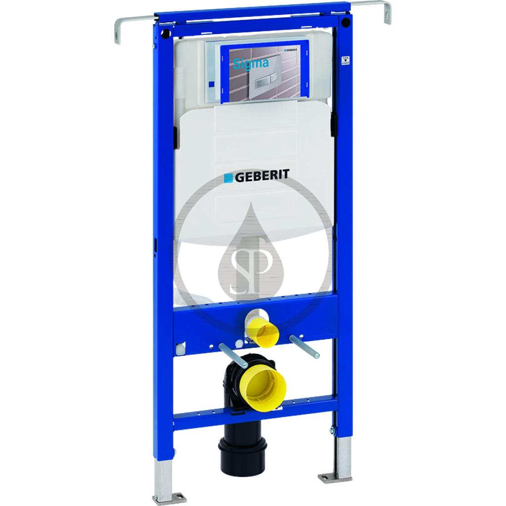 GEBERIT - Duofix Montážny prvok na závesné WC, 112 cm, splachovacia nádržka pod omietku Sigma 12 cm, k inštalácii medzi bočné steny 111.355.00.5