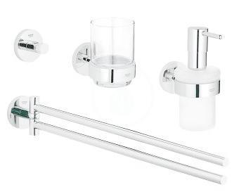 GROHE - Essentials Sada doplňků do koupelny 4 v 1, chrom (40846001)