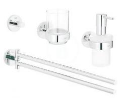 GROHE - Essentials Súprava doplnkov do kúpeľne 4 v 1, chróm (40846001)