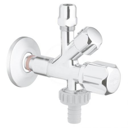 GROHE - Universal Originálny WAS kombi-rohový ventil, chróm (22036000)