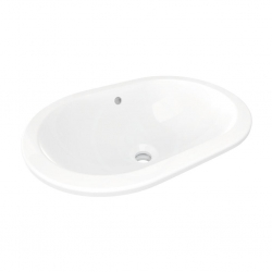 IDEAL STANDARD - Connect Umývadlo pod dosku, 550×380 mm, s prepadom, biela (E504801)