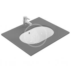 IDEAL STANDARD - Connect Umývadlo pod dosku oválne 550×175×380 mm, biela (E504801), fotografie 4/2