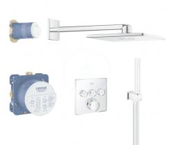 GROHE - Grohtherm SmartControl Perfect Sprchová súprava s termostatom pod omietku, 310 mm, chróm (34706000)