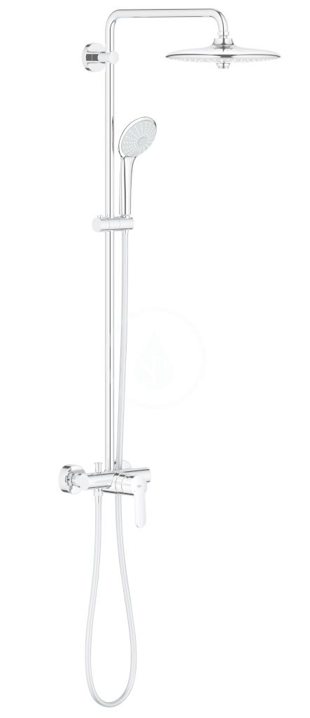 GROHE GROHE - Euphoria Sprchový set s batériou, 260 mm, chróm 27473001