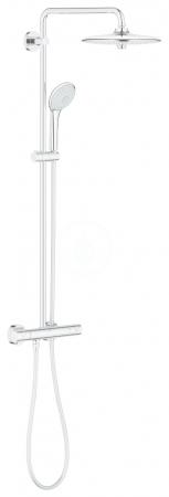 GROHE - Euphoria Sprchový set s termostatom na stenu, 260 mm, chróm (27615001)