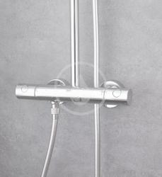 GROHE - Euphoria Sprchový set s termostatom na stenu, 260 mm, chróm (27615001), fotografie 4/12