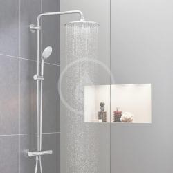 GROHE - Euphoria Sprchový set s termostatom na stenu, 260 mm, chróm (27615001), fotografie 20/12
