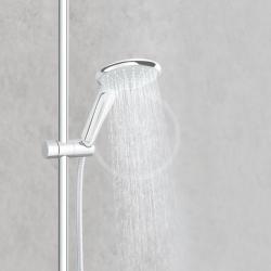 GROHE - Euphoria Sprchový set s termostatom na stenu, 260 mm, chróm (27615001), fotografie 24/12