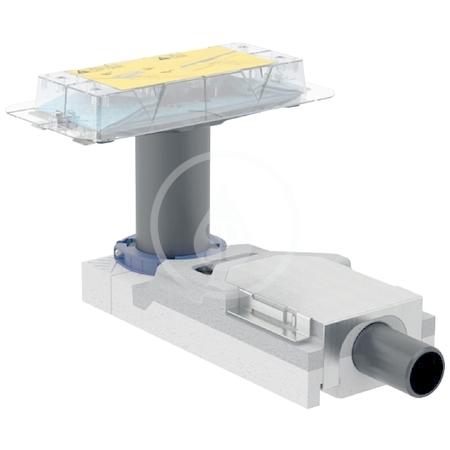 GEBERIT - CleanLine Souprava pro hrubou montáž sprchového kanálku, pro podlahy 65-90 mm, odpad 40 mm (154.152.00.1)