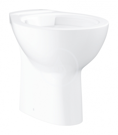 GROHE - Bau Ceramic Stojacie WC, rimless, alpská biela (39431000)